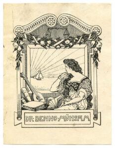 Exlibris Benno Mühsam