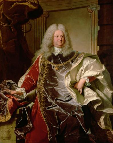 (Abb. 1) Hyacinthe Rigaud: Graf Philipp Ludwig Wenzel Sinzendorf, 1728. © KHM-Museumsverband